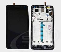 Дисплейный модуль в рамке для Huawei Honor 2 U9508 (Black) Original