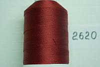 Нить №60 (1000 м.) «Титан» колір 2620 бордовий