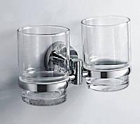 Двойной стакан под зубные щетки
