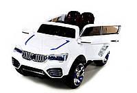 Детский электромобиль X7 (белый) 2 двигателя!