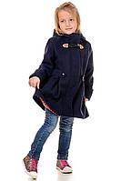 Демисезонное кашемировое детское пальто Оксфорд  на девочку размеры 28- 34