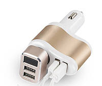 Адаптер 2500 charger прикуриватель с USB