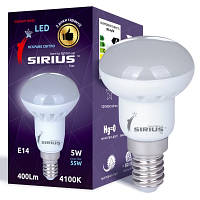 LED лампа Siriusstar R50 спот 5W E14 4100K (1-LS-2702) 400Lm
