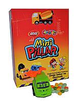 Яйца пластиковые c игрушкой Mini Pillar 12 штук Aras