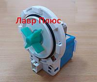 Насос (помпа) для стиральных машин Beko на 8 защелках клемы слитно спереди , 10MA53-15011 фронт