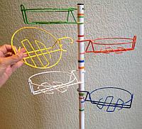Корзинки цветные 17 см для подставок