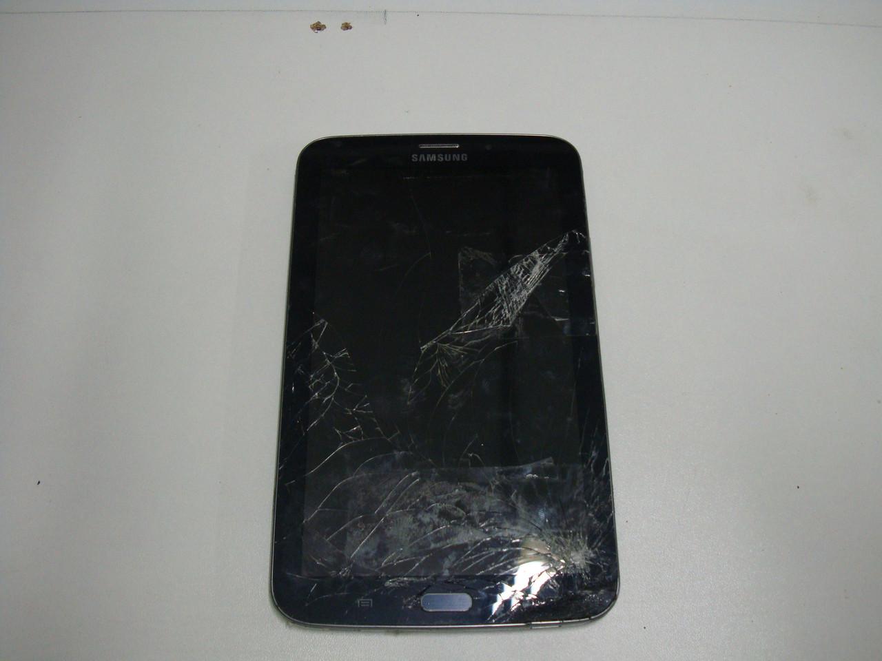 Samsung T211 3G 8GB планшет на запчасти (материнская плата, батарея, экран, камера, корпус, разбитый тачскрин)
