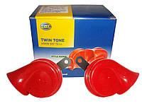 Звуковий сигнал Hella Twin Tone Horn Set TE 16 / Звуковой сигнал Hella Twin Tone TE16 двухтональный 400/500 Гц