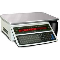 Весы с печатью этикеток Digi SM-100 B (2-х строчный дисплей)