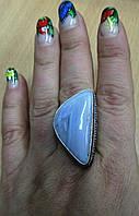 Шикарный перстень с агатом-сапфирином, размер  18.3  от студии LadyStyle.Biz