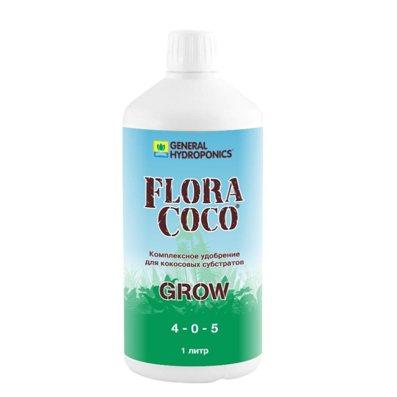 GHE FloraCoco Grow 1L. Оригинал. Минеральное удобрение для гидропоники. Франция
