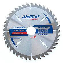 Диск пильный  WellCut Standard 254мм*30мм*60Т по ламинату