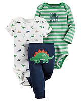 """Комплект одежды Carters для мальчика """"Дино приключение"""""""