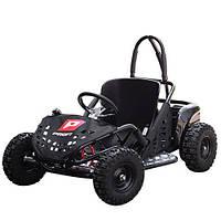 """Детский электромобиль карт Profi Картинг """"Баги"""" надувные колеса до 90 кг 11 - 35 км/ч сверхмощный мотор 1000W"""