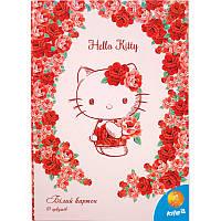 Картон белый двусторонний Hello Kitty  HK15-254K