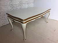 Итальянскии обеденный стол (нераздвижной)  с фигурной столешницей
