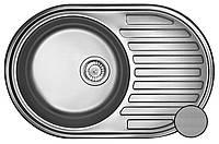Кухонная стальная мойка (Eko) Galati Dana  Textură