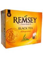 Черный чай в пакетиках Remsey Классический 75 шт