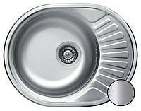 Кухонная стальная мойка (57*45*18 см) Galati Taleyta Satin 7131