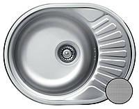 Кухонная стальная мойка (57*45*18 см) Galati Taleyta  Textură 7132