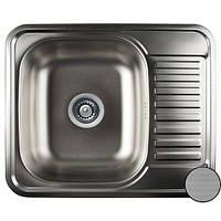 Кухонная стальная мойка (58*48*18 см) Galati Sims  Textură 7134