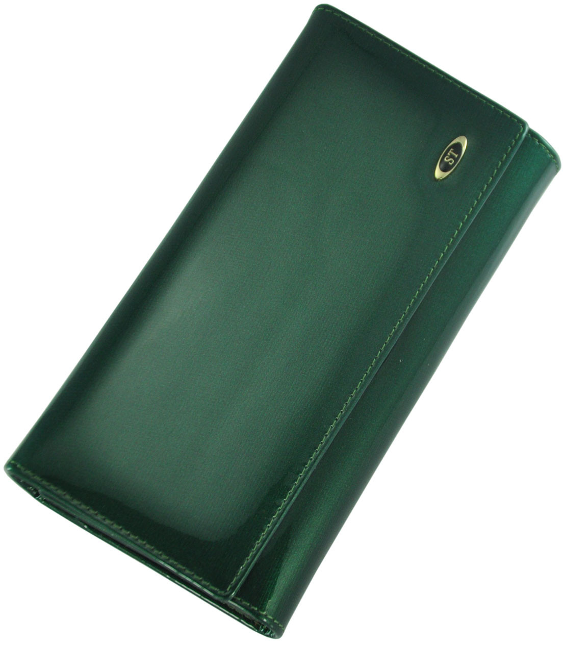 Кожаный женский кошелек BC34 GREEN