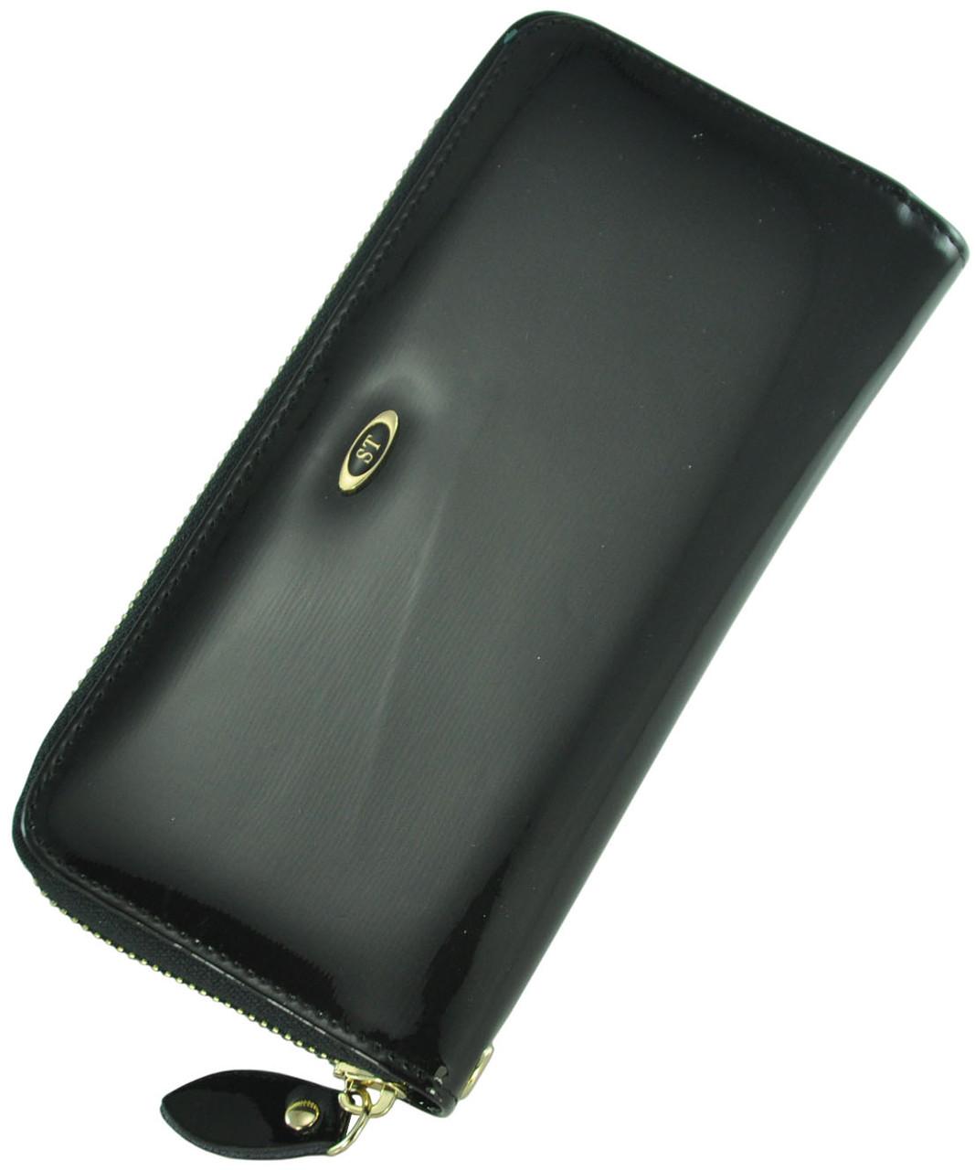 Кожаный женский кошелек BC38 Black