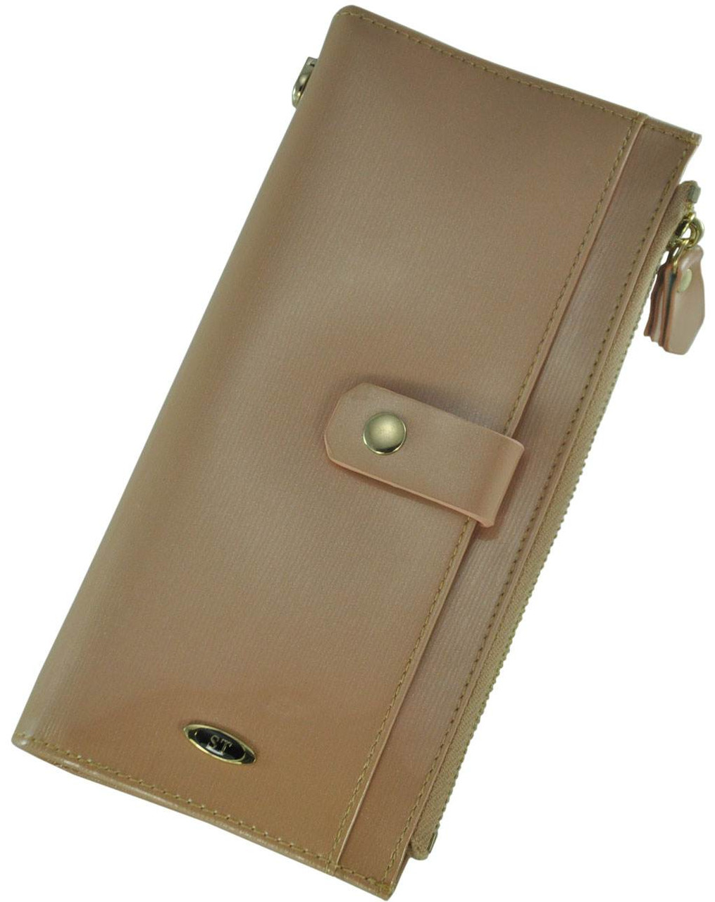 Кожаный женский кошелек BC420 PINK