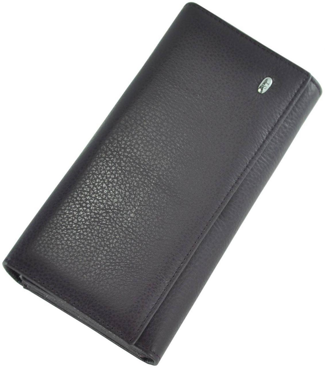 Шкіряний жіночий гаманець ST34 VIOLET