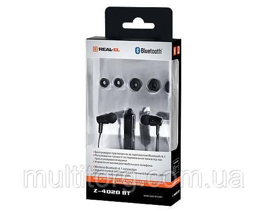 Наушники REAL-EL Z-4020 BT с микрофоном Bluetooth гарнитура для смартф 3
