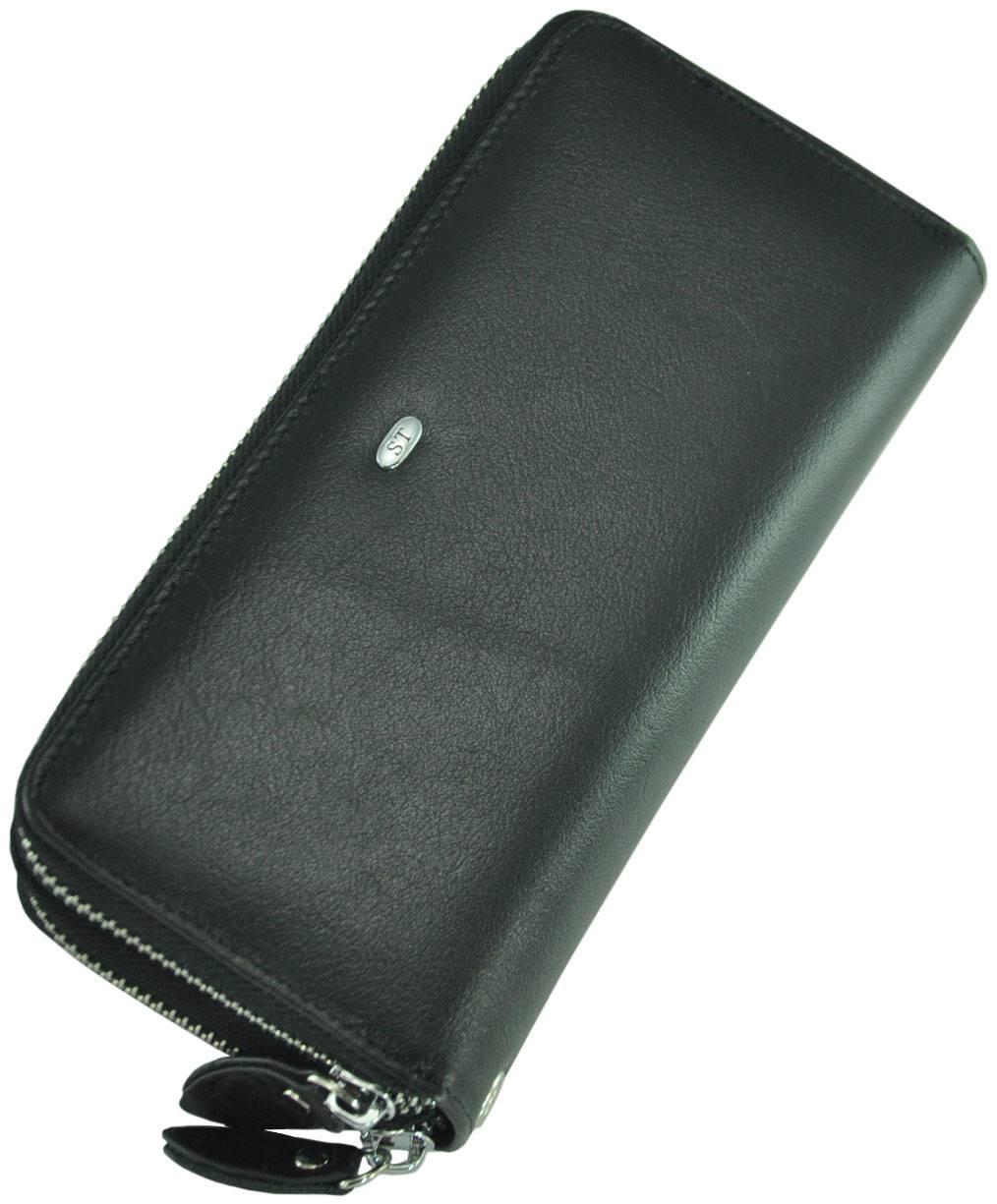 Кожаный мужской клатч M39-3 Black