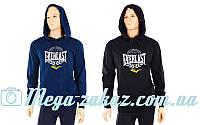 Толстовка спортивная с капюшоном Elast 3768EV: 2 цвета, M/L/XL