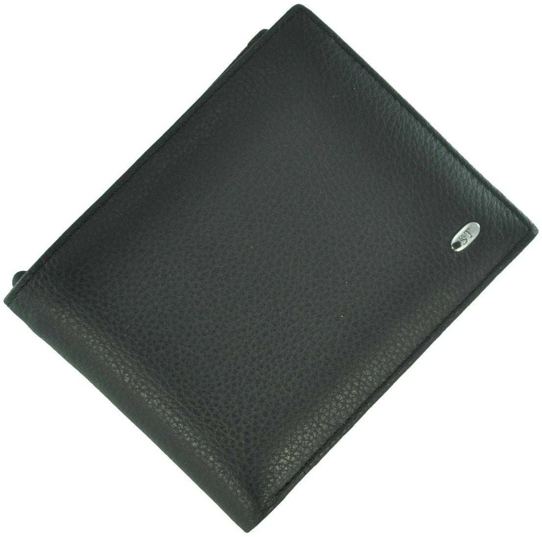 Кожаный мужской кошелек M30 Black
