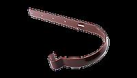 Держатель желоба металл длинный Ø90/75