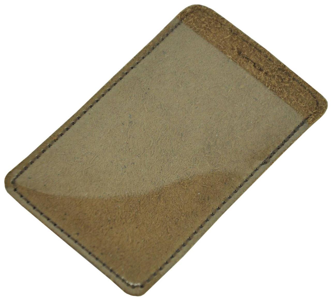 Кожаный чехол для карты Biometric коричневый