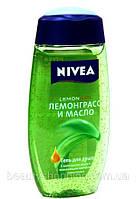 """Гель для душа Nivea """"Лемонграсс и масло"""" 250 мл, фото 1"""