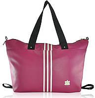 Спортивная сумка Adidas Trapeze малиновая реплика