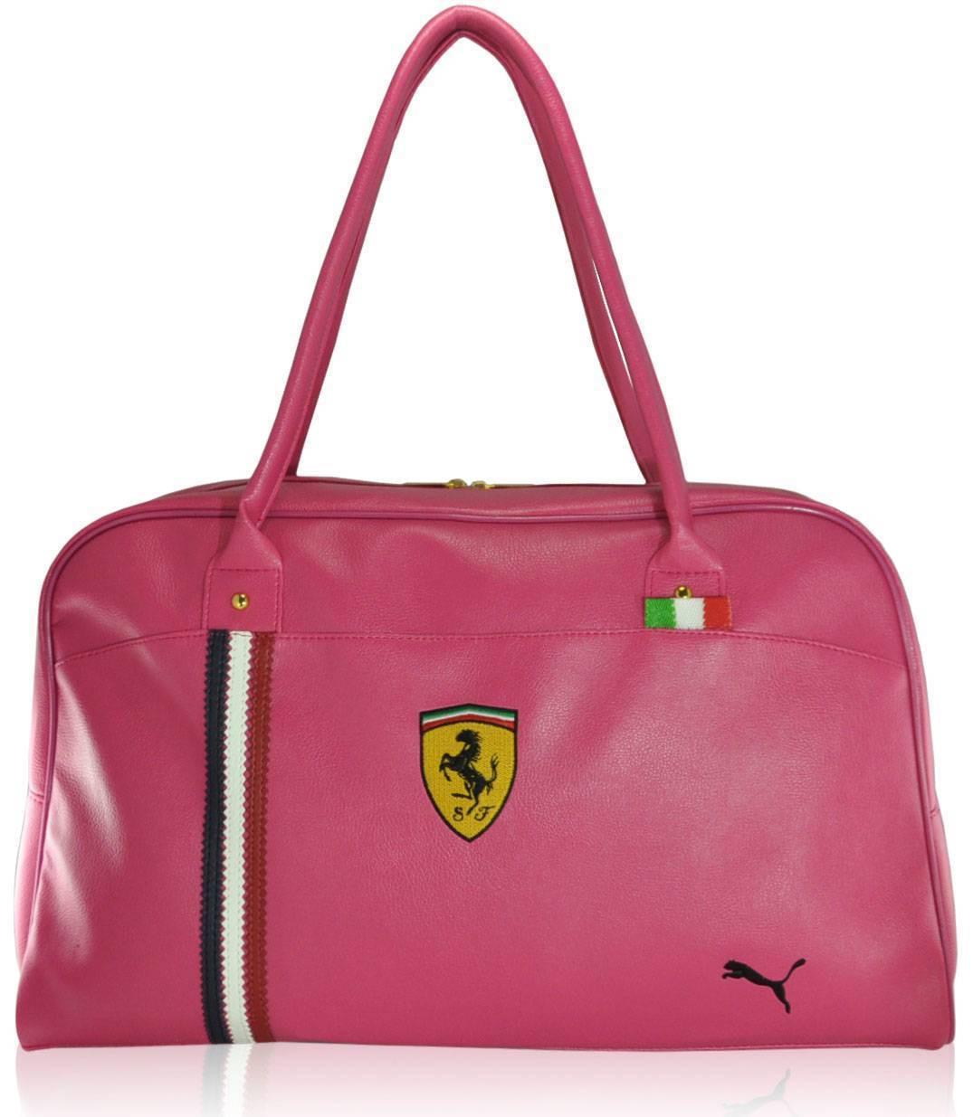 Спортивная сумка Puma Valise розовая реплика