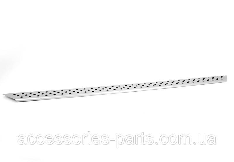 Накладка порога левая алюминий BMW X5 E70 Новый Оригинальный