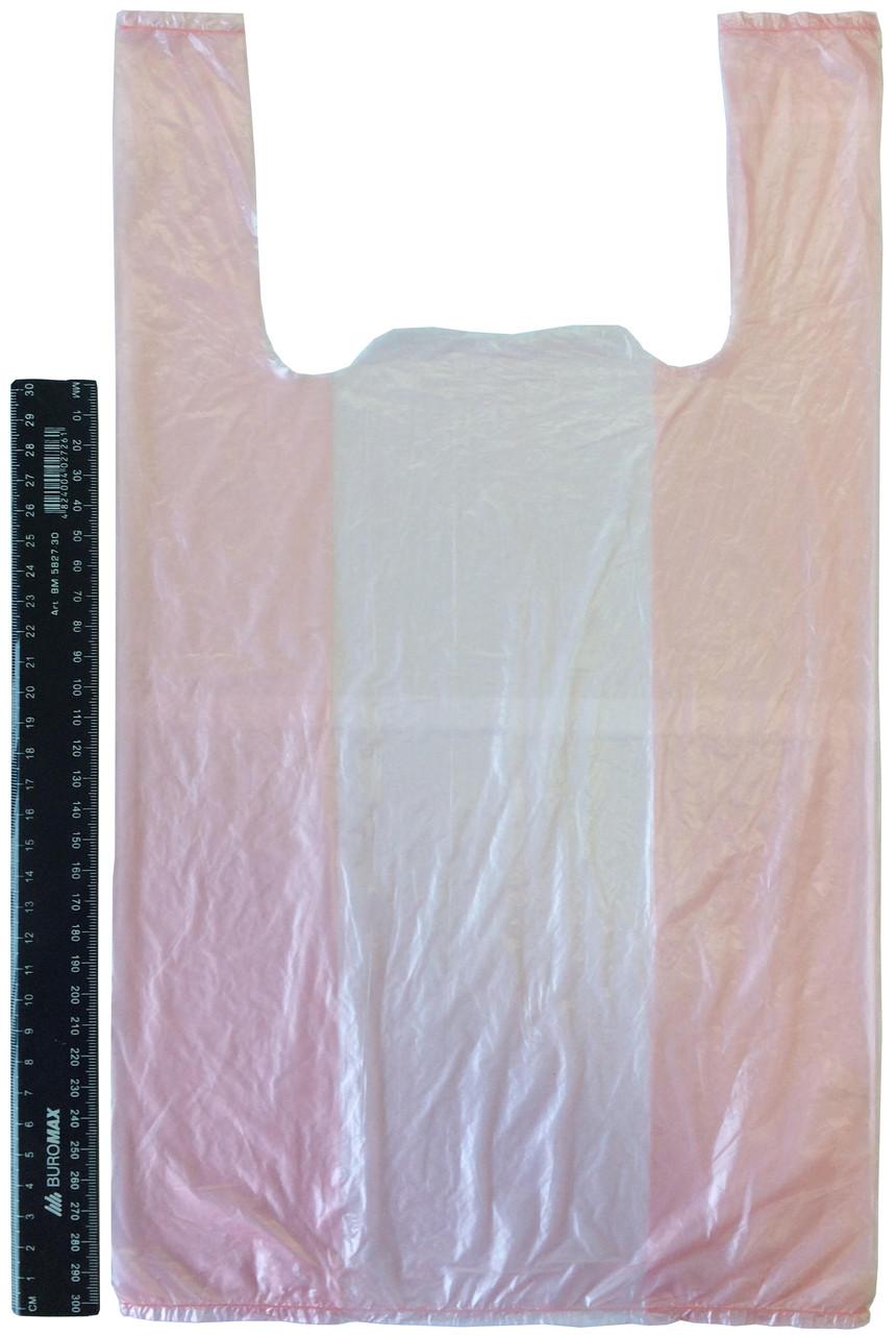 Пакет полиэтиленовый-майка №2 24*43 см, 4000 шт.