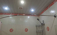 Карниз дугообразный 110х170 см для шторки
