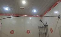 Карниз дугообразный 110х170 см для угловой ванны (все размеры)