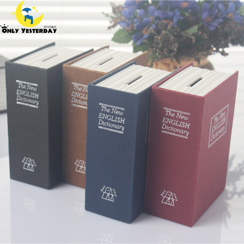 Книга-сейф- копилка,11,5х8х4,5см см словарь малая