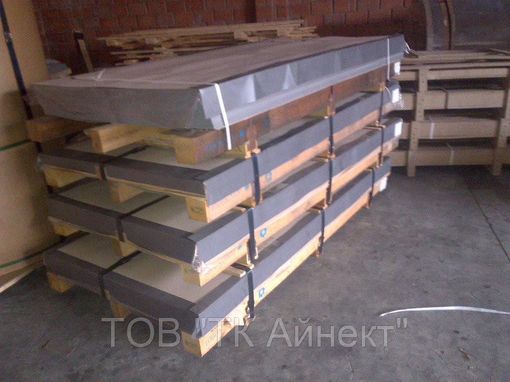Лист нержавеющий AISI 304 6х1000х2000 мм NO1   листы нж, нержавеющая сталь, нержавейка.