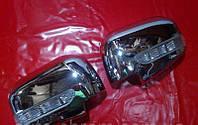 Накладки на зеркала с поворотом Mitsubishi L200