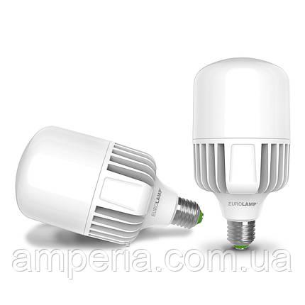 LED Лампа EUROLAMP високопотужна 100W E40 6500K (LED-HP-100406), фото 2