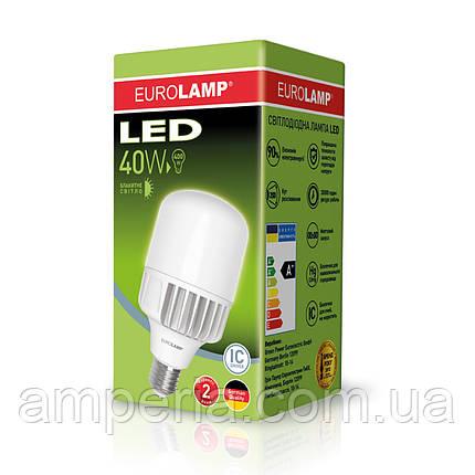 EUROLAMP LED Лампа высокомощная 40W E40 6500K (LED-HP-40406), фото 2