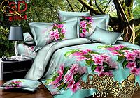 Комплект постельного белья 3D поликоттон двуспальный PC701