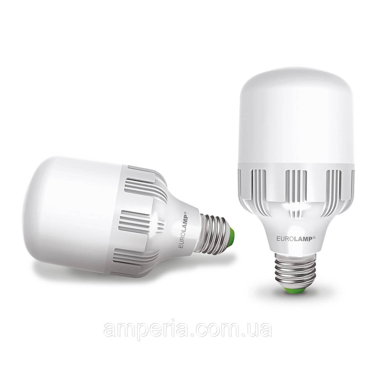 EUROLAMP LED Лампа высокомощная 30W E27 6500K (LED-HP-30276)