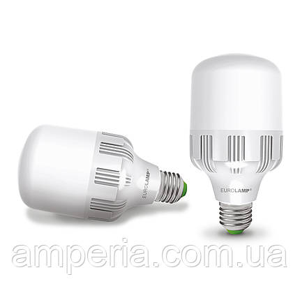 LED Лампа EUROLAMP високопотужна 30W E27 6500K (LED-HP-30276), фото 2